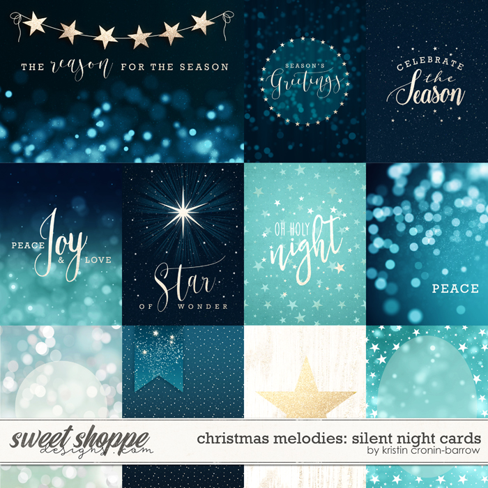 Christmas Melodies: Silent Night Cards by Kristin Cronin-Barrow