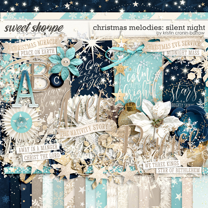 Christmas Melodies: Silent Night by Kristin Cronin-Barrow