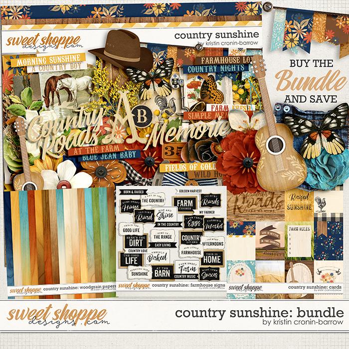 Country Sunshine: Bundle by Kristin Cronin-Barrow