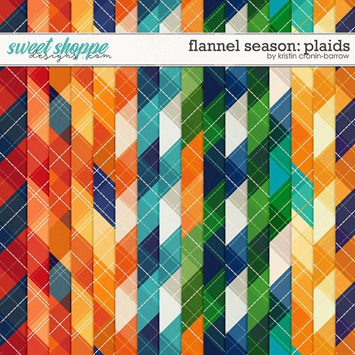 Flannel Season: Plaid Papers by Kristin Cronin-Barrow