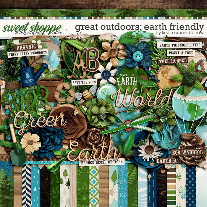Great Outdoors: Earth Friendly by Kristin Cronin-Barrow