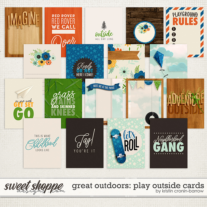 Great Outdoors: Play Outside Cards