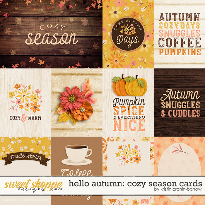 Hello Autumn: Cozy Season Cards by Kristin Cronin-Barrow