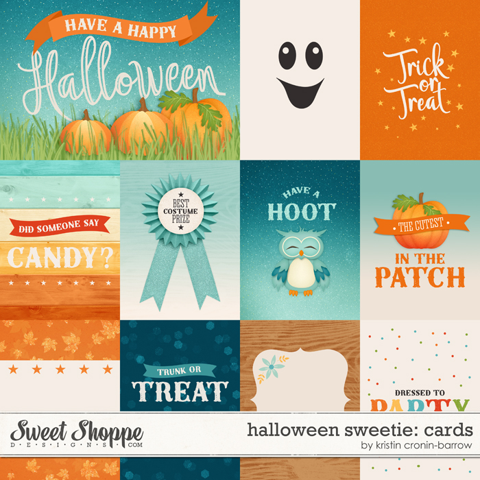 Halloween Sweetie: Cards by Kristin Cronin-Barrow