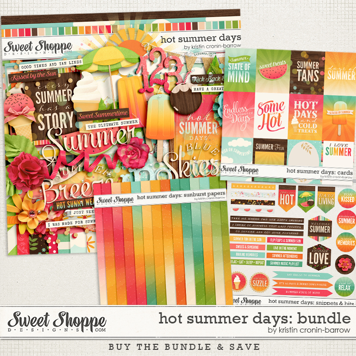 Hot Summer Days: Bundle by Kristin Cronin-Barrow