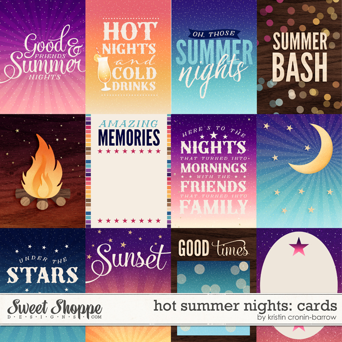 Hot Summer Nights: Cards by Kristin Cronin-Barrow