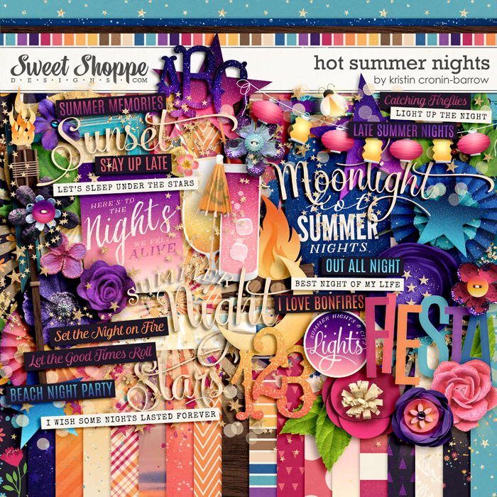 Hot Summer Nights by Kristin Cronin-Barrow