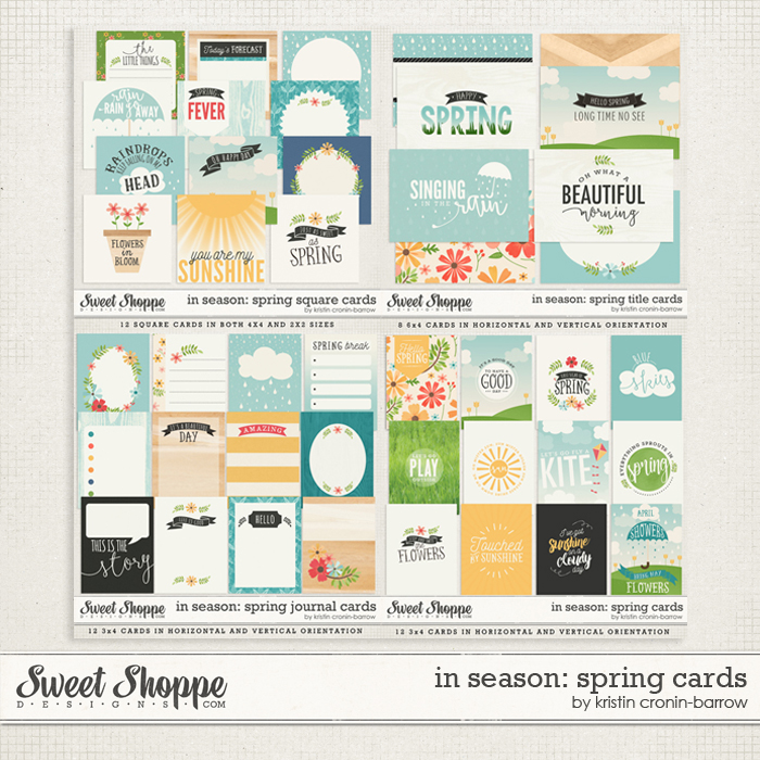 In Season: Spring Pocket Cards by Kristin Cronin-Barrow