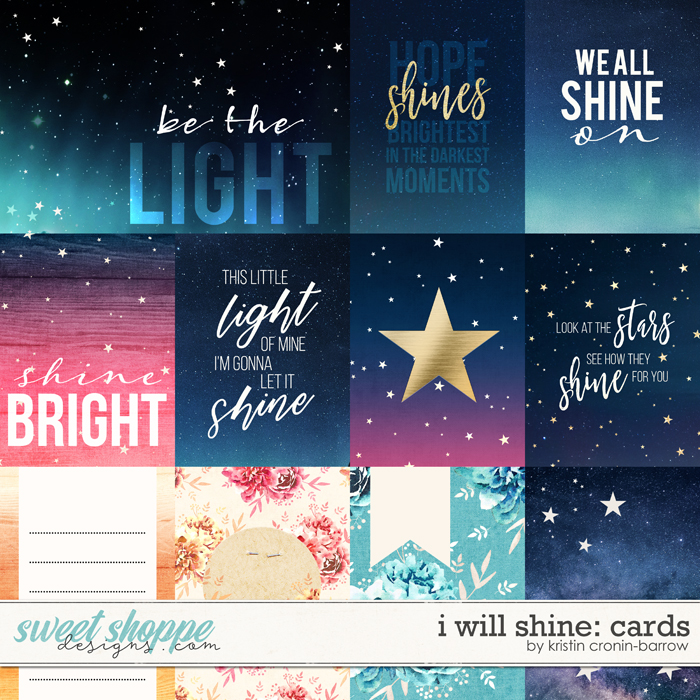 I Will Shine: Cards by Kristin Cronin-Barrow