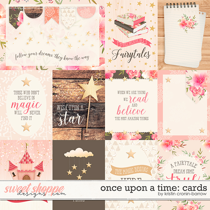 Once Upon a Time: Cards by Kristin Cronin-Barrow
