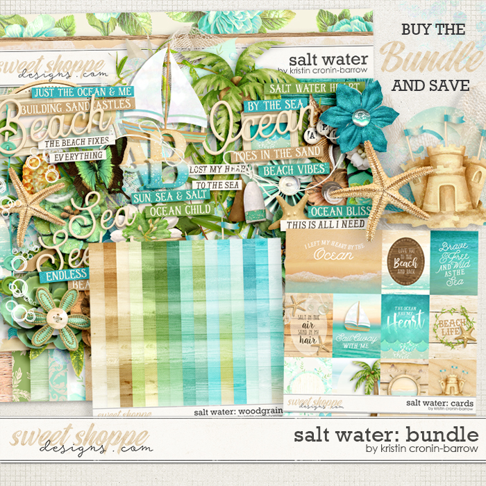 Salt Water: Bundle by Kristin Cronin-Barrow