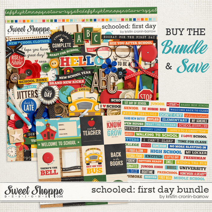 Schooled: First Day Bundle by Kristin Cronin-Barrow