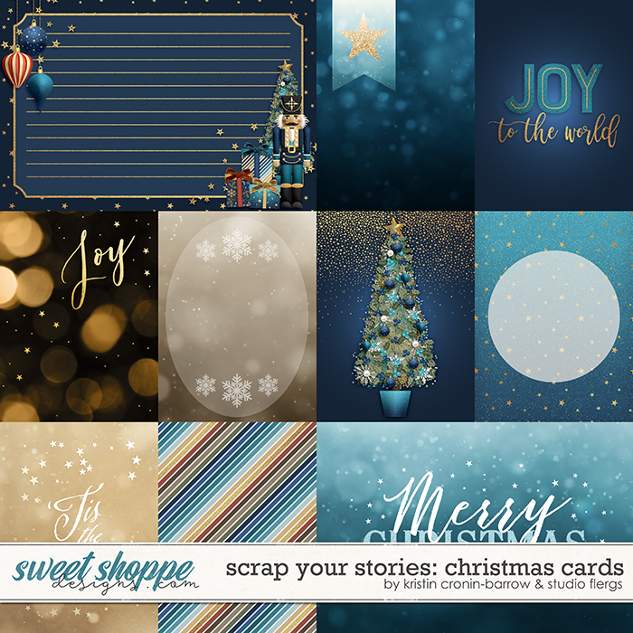 Scrap Your Stories: Christmas- CARDS by Studio Flergs & Kristin Cronin-Barrow