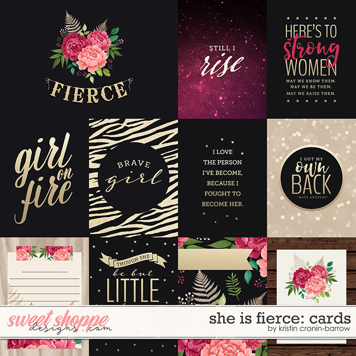 She is Fierce: Cards by Kristin Cronin-Barrow