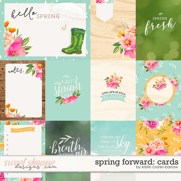 Spring Forward: Cards by Kristin Cronin-Barrow