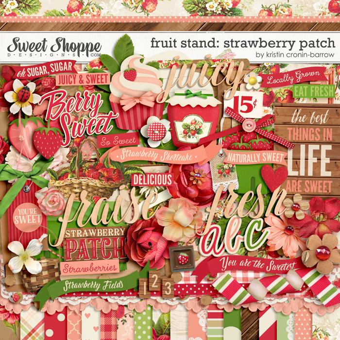 Fruit Stand: Strawberry Patch by Kristin Cronin-Barrow