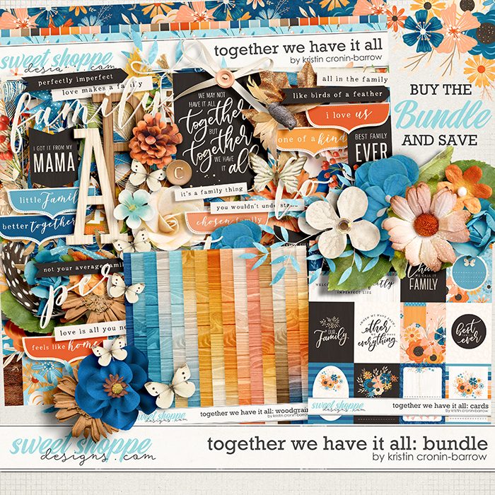 Together we have it all: Bundle by Kristin Cronin-Barrow