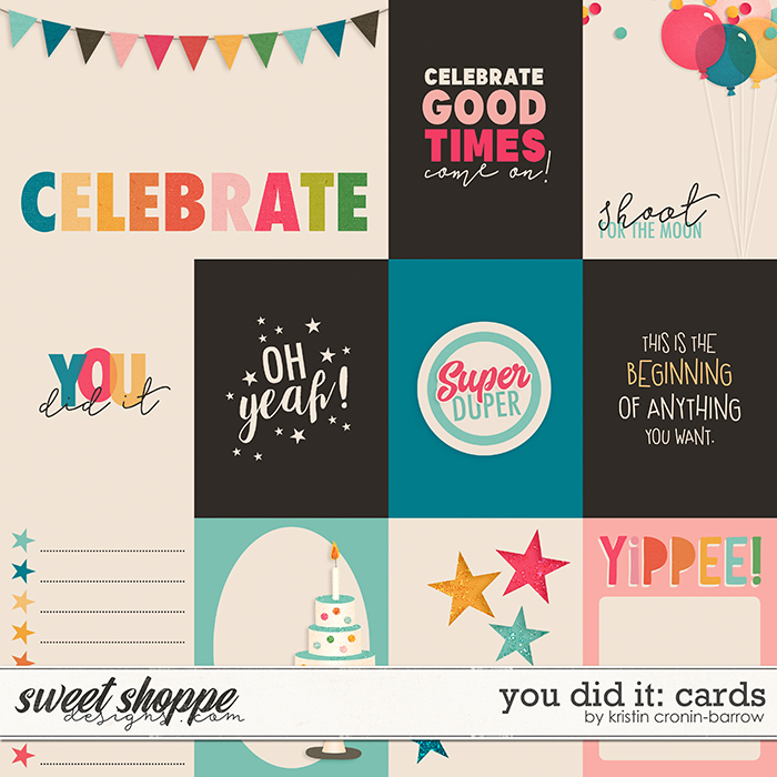 You Did It: Cards by Kristin Cronin-Barrow