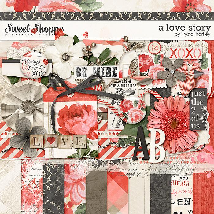 A Love Story by Krystal Hartley