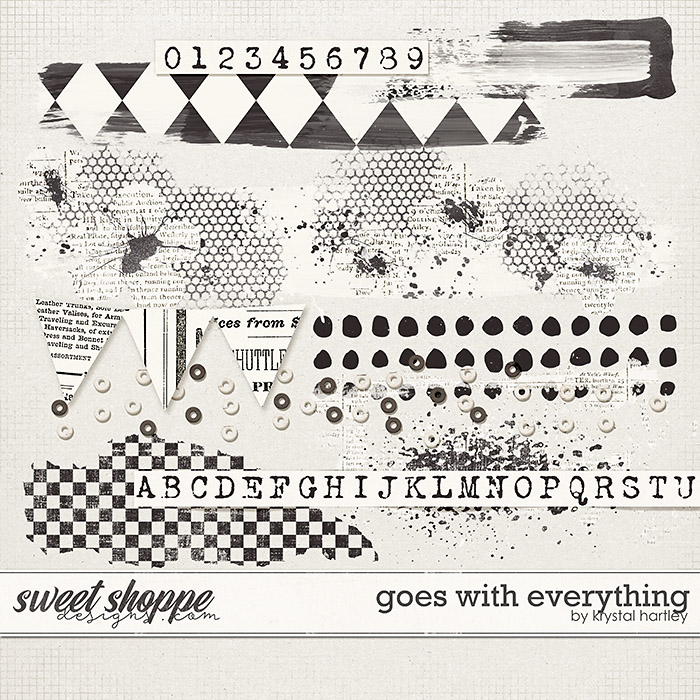 Goes with Everything by Krystal Hartley
