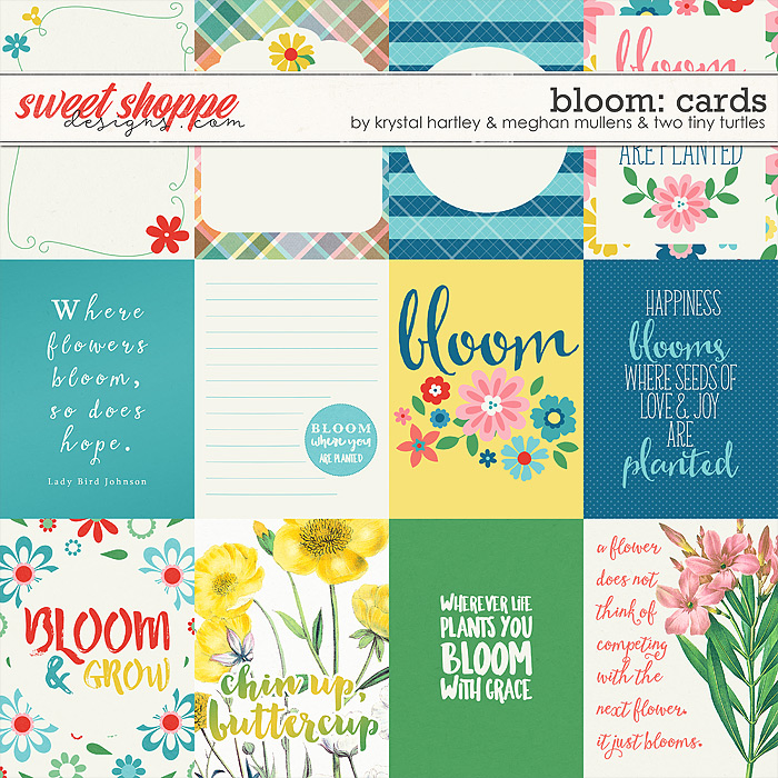Bloom Journal Cards by Krystal Hartley, Meghan Mullens & Two Tiny Turtles