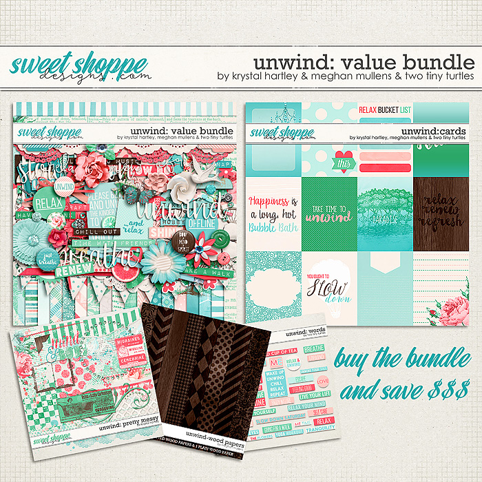 Unwind Value Bundle by Krystal Hartley, Meghan Mullens & Two Tiny Turtles