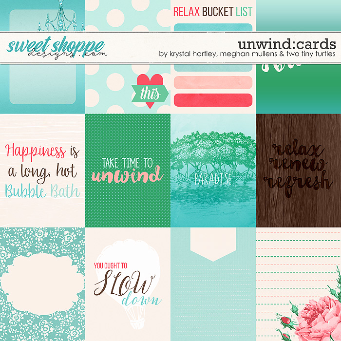 Unwind Journal Cards by Krystal Hartley, Meghan Mullens & Two Tiny Turtles