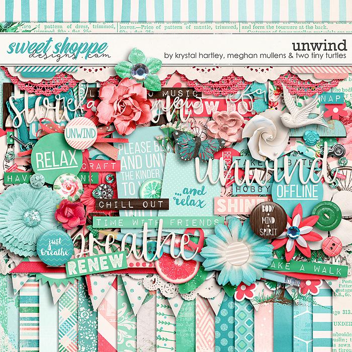 Unwind by Krystal Hartley, Meghan Mullens & Two Tiny Turtles