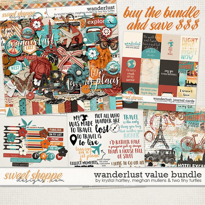 Wanderlust-Value Bundle by Krystal Hartley, Meghan Mullens, and Two Tiny Turtles