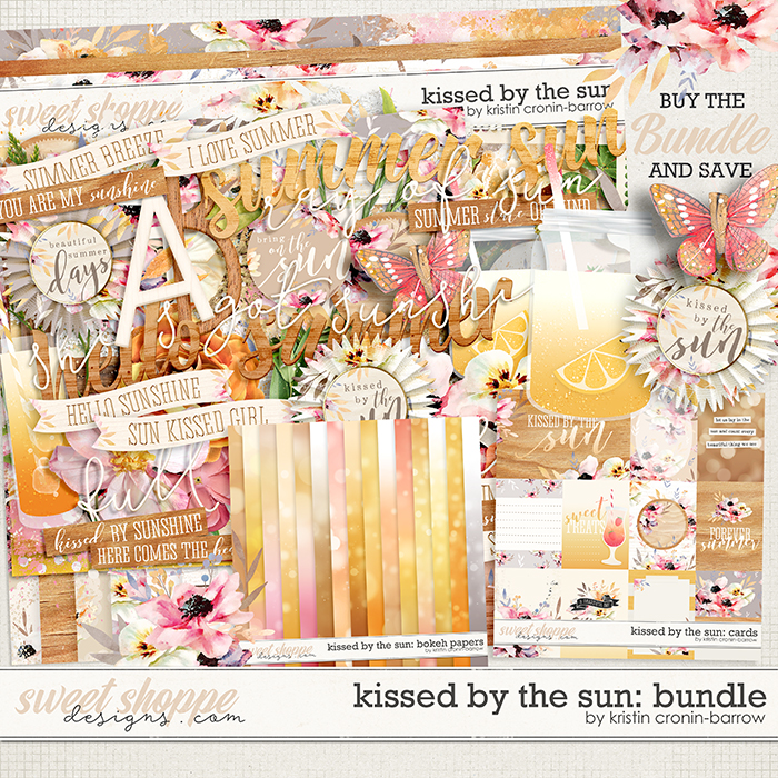 Kissed by the Sun: Bundle by Kristin Cronin-Barrow