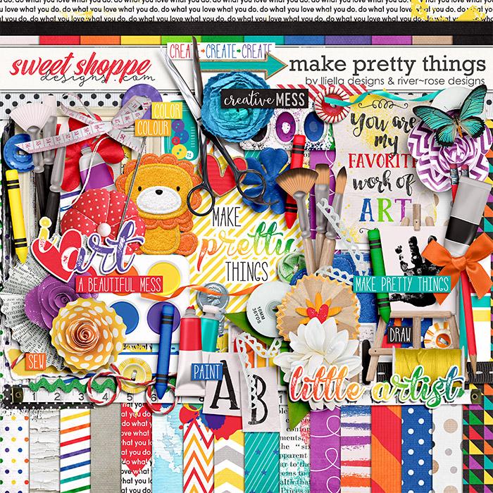 Make Pretty Things by Lliella Designs and River Rose Designs