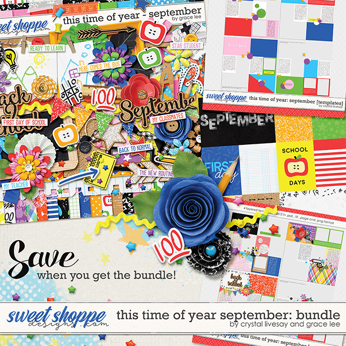 This Time of Year September: Bundle by Crystal Livesay and Grace Lee