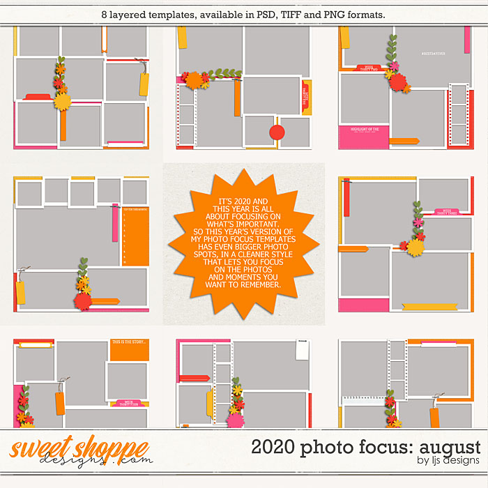 2020 Photo Focus: August by LJS Designs