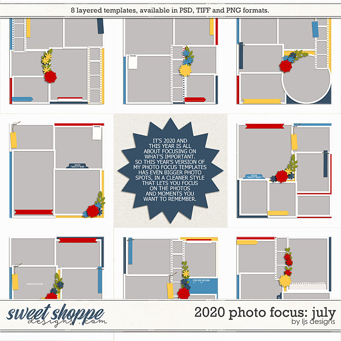 2020 Photo Focus: July by LJS Designs