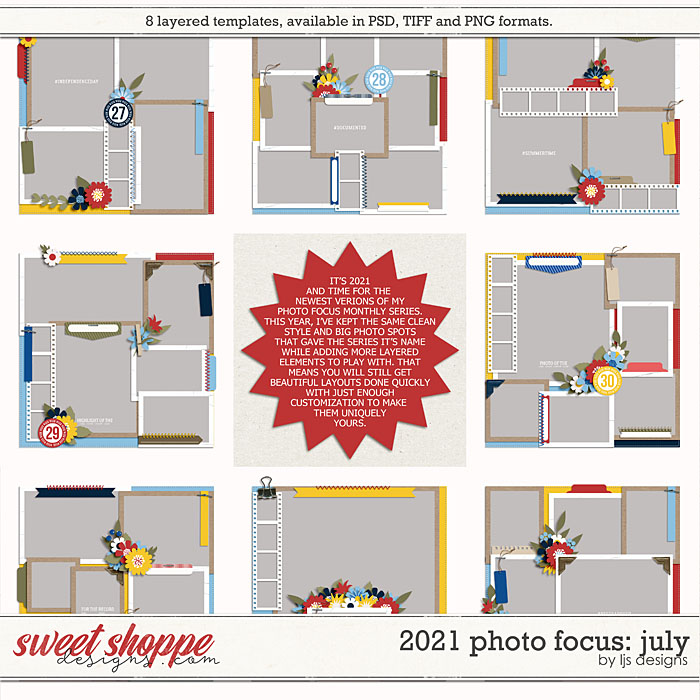 2021 Photo Focus: July by LJS Designs