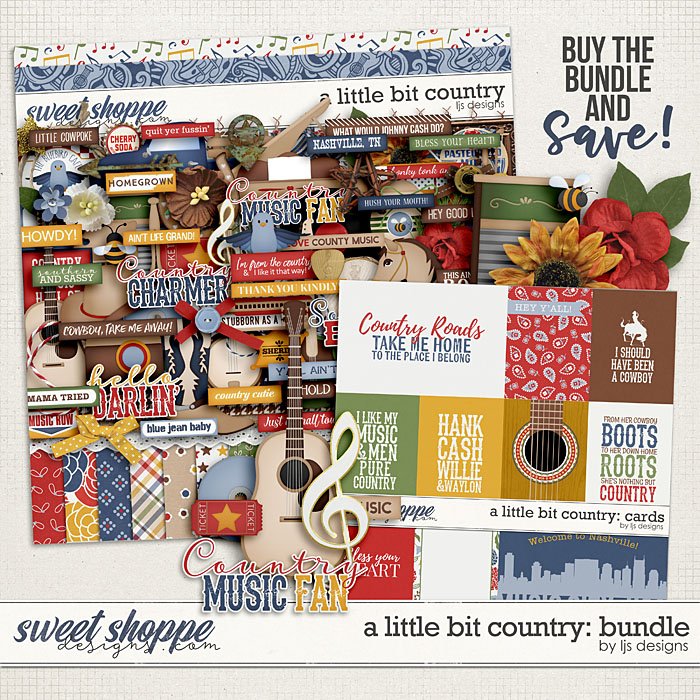 A Little Bit Country: Bundle by LJS Designs