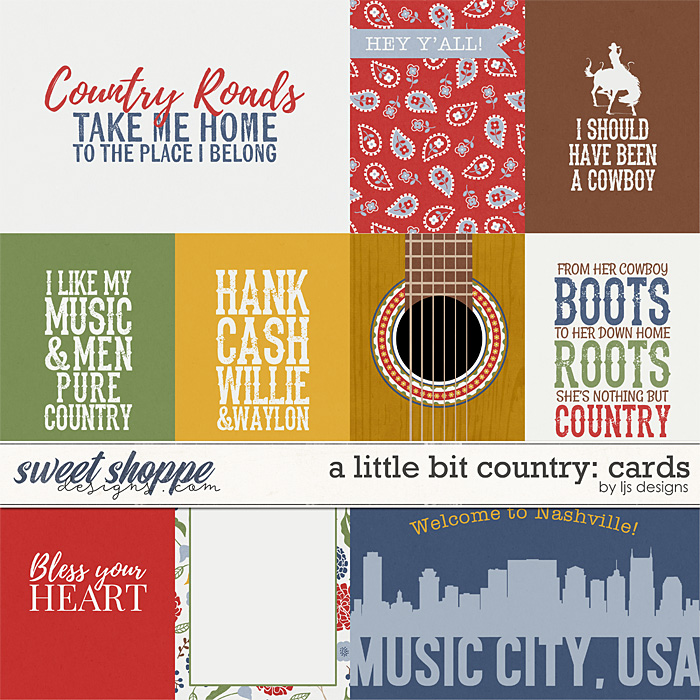 A Little Bit Country: Cards by LJS Designs