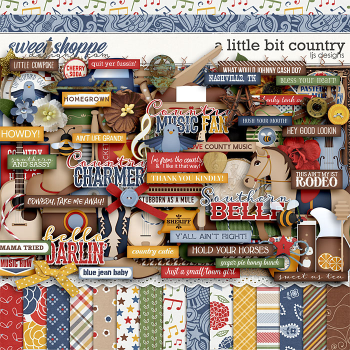A Little Bit Country by LJS Designs