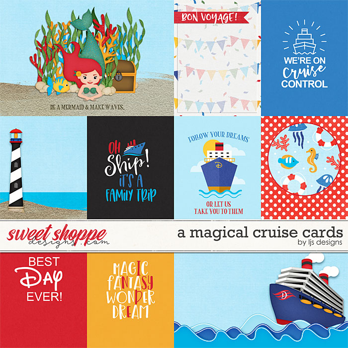 A Magical Cruise Cards by LJS Designs