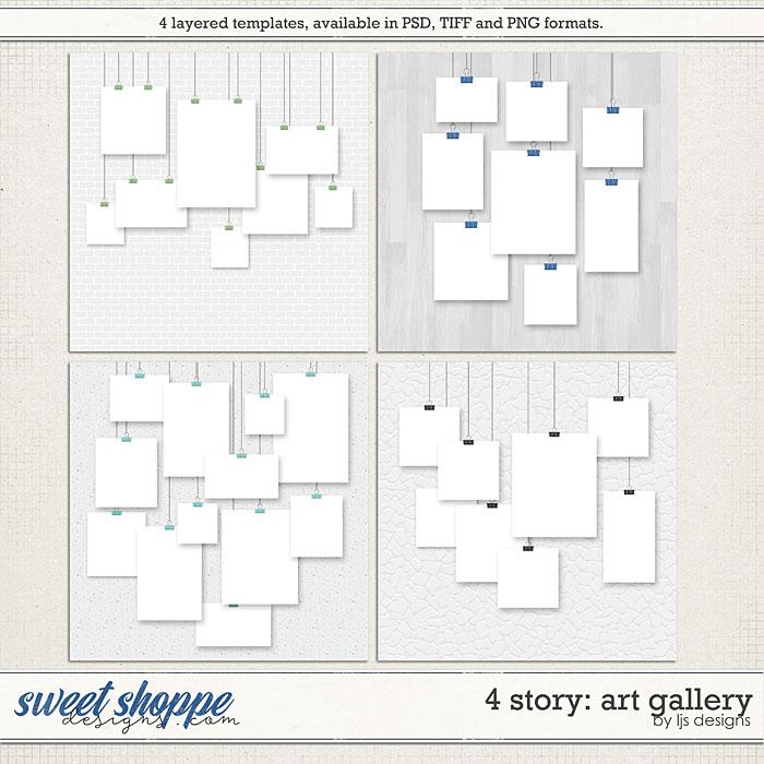 4 Story: Art Gallery by LJS Designs