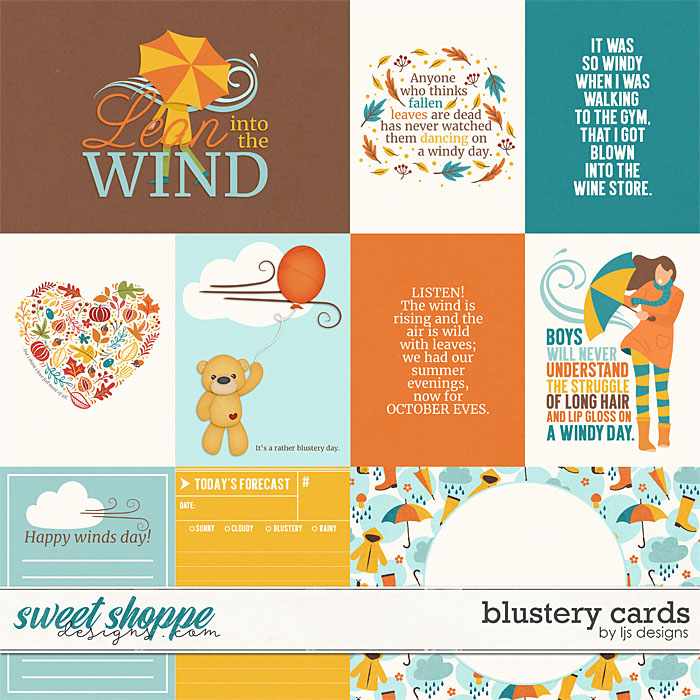 Blustery Cards by LJS Designs
