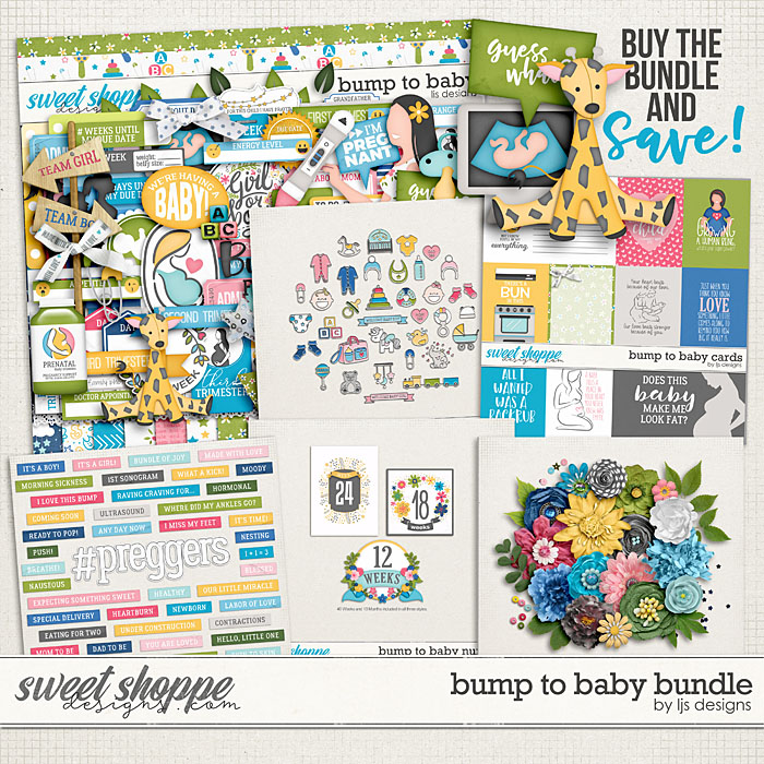 Bump To Baby Bundle by LJS Designs