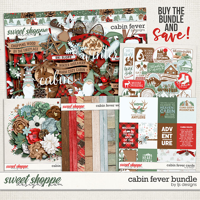 Cabin Fever Bundle by LJS Designs