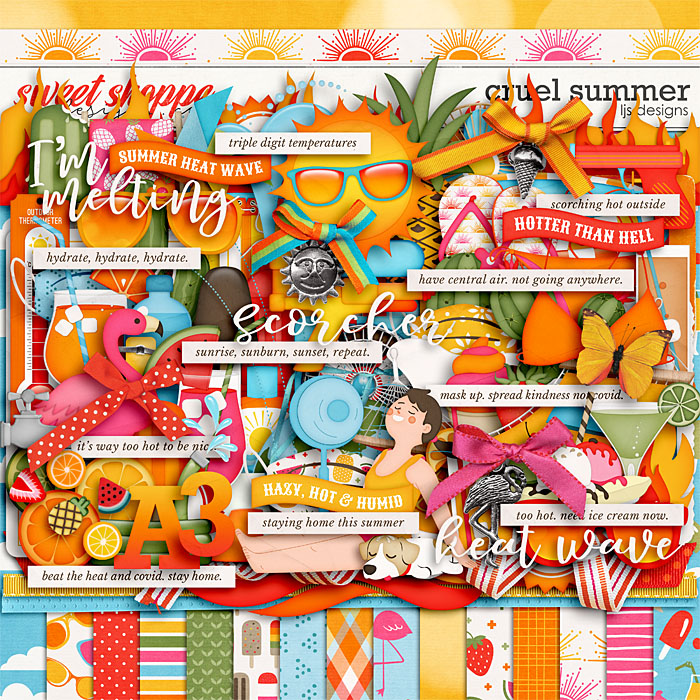 Cruel Summer by LJS Designs