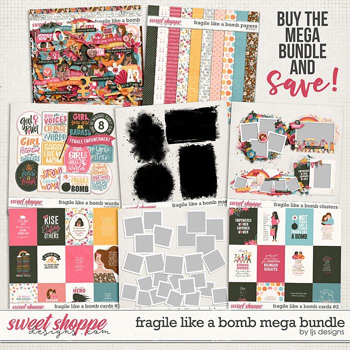 Fragile Like A Bomb Mega Bundle by LJS Designs