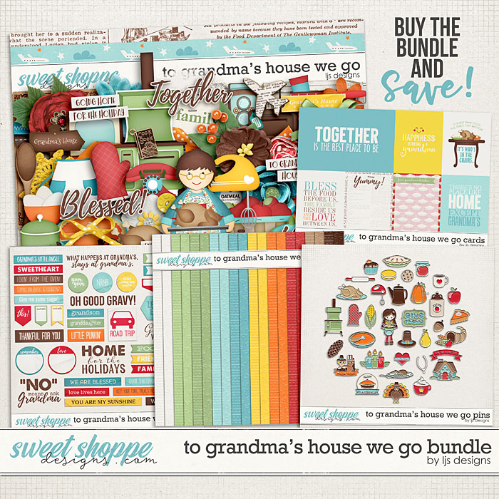 To Grandma's House We Go Bundle by LJS Designs