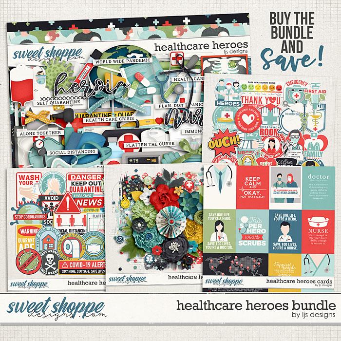 Healthcare Heroes Bundle by LJS Designs