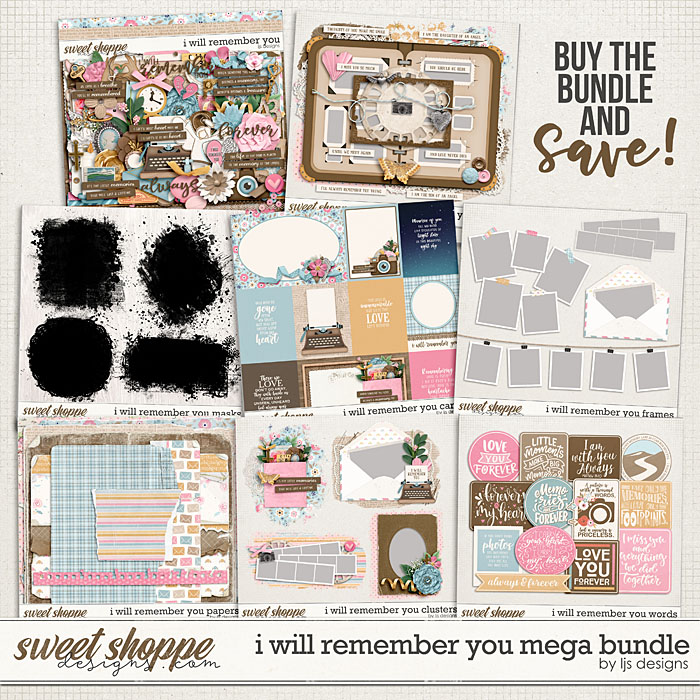 I Will Remember You Mega Bundle by LJS Designs