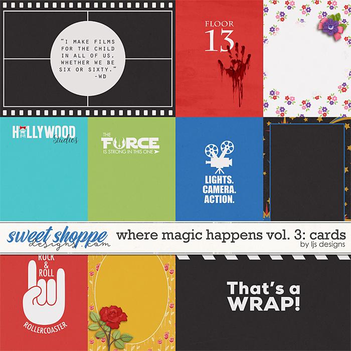Where Magic Happens Vol. 3: Cards by LJS Designs