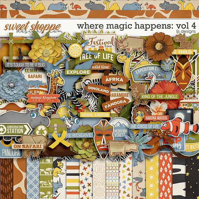 Where Magic Happens Vol. 4 by LJS Designs